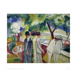 MAC076 People Strolling, 1913