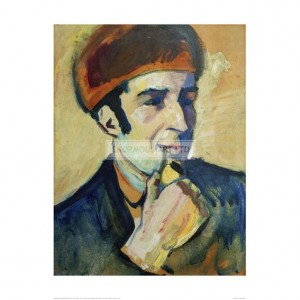 MAC082 Portrait of Franz Marc, 1910