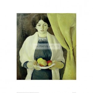 MAC083 Portrait with Apples, The Artist's Wife