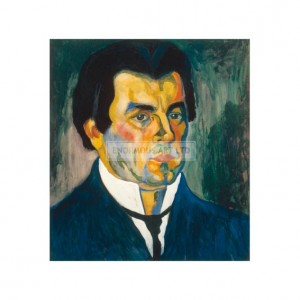 SP013 Kasimir Malevich Self Portrait