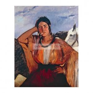 MAN059 Gypsy with a Cigarette, 1862