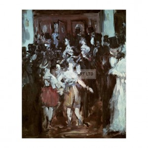 MAN019 Masked Ball at the Opera, 1873