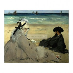 MAN041 On the Beach 1873