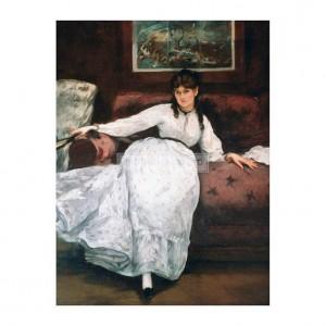 MAN058 The Rest, or Portrait of Berthe Morisot