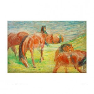 MAR034 Grazing Horses I, 1910