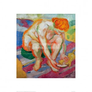 MAR047  Nude with Cat, 1910