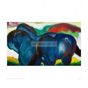 MAR060 Small Blue Horses, 1911