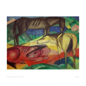 MAR080 Three Horses II, 1913