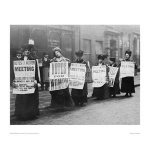 SUF384 Suffragette Meeting, 1910