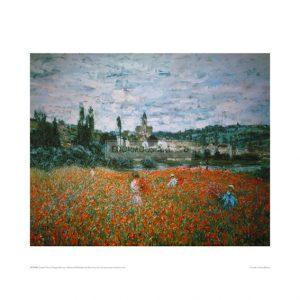MON201 Poppyfield near Vetheuil