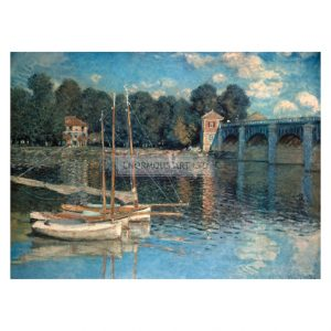 MON222 Bridge at Argenteuil 1874