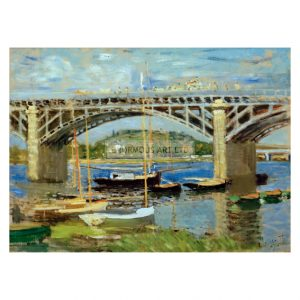 MON223 Bridge over Seine Argenteuil 1874