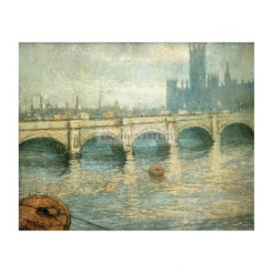 MON224 Bridge over the Thames 1903