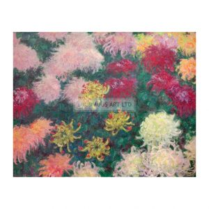 MON233 Chrysanthemum Bed 1897