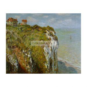 MON237 Cliffs near Dieppe 1882