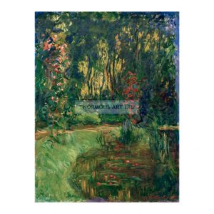 MON240 Corner of a Pond at Giverny 1918