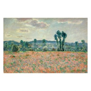 MON252 Field with Poppies 1890