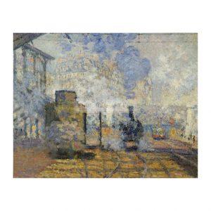 MON265 Gare Saint-Lazare 1877 Detail