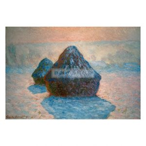 MON273 Haystack with Frost 1891