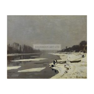 MON283 Ice-floes on the Seine 1867