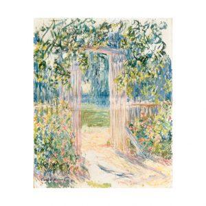 MON293 La Porte du Jardin Vetheuil 1881