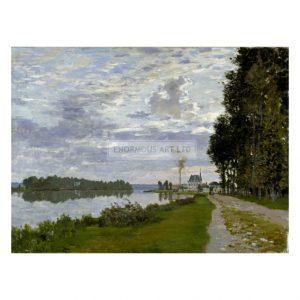 MON294 La Promenade d'Argenteuil 1872