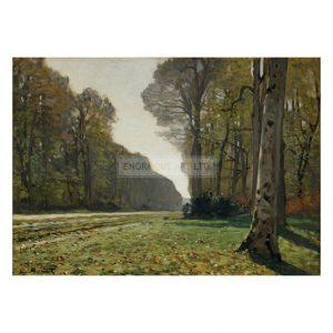MON302 Le Pave de Chailly, Fontainebleau 1865