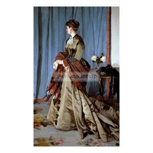 MON317 Madame Louis J Gaudibert 1868