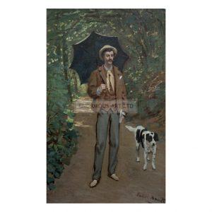 MON341 Portrait of Victor Jacquemont 1865