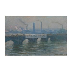 MON032 Waterloo bridge 1900