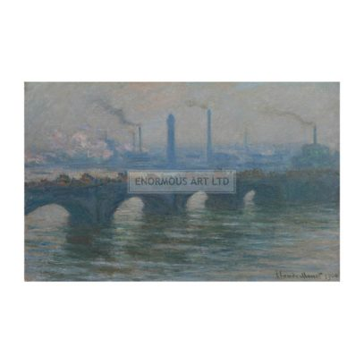 5EN-L2-D23-1900 (160760)  'Waterloo Bridge'  Monet, Claude 1840-1926. 'Waterloo Bridge', 1900. Oil on canvas, 63.5 x 92.7cm.