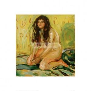 MUN029  Nude Kneeling