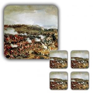 Coaster Set: Napoleon's Final Defeat, Waterloo, 1874