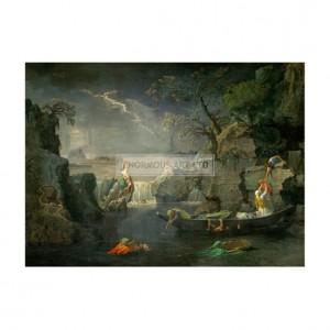 POU002 Winter, or The Flood, 1660
