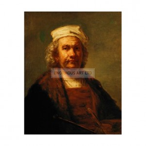 SP032 Rembrandt Self Portrait