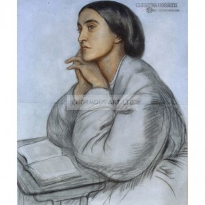 ROS003 Christina Rossetti, 1866