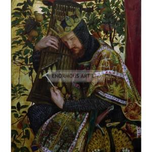 ROS005 David as King