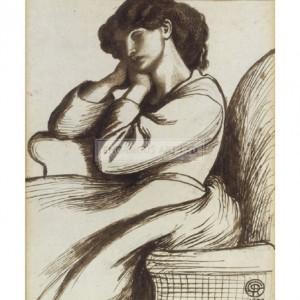 ROS017 Mrs William Morris, 1873