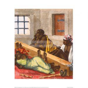 SLA012 Punishing Black Slaves (Colour)