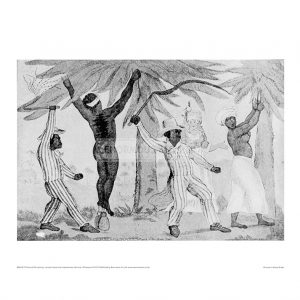 SLA017 Cartoon Mistreatment of Slaves
