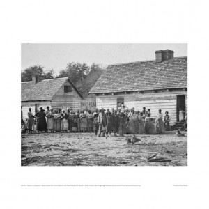 SLA018 Slaves on a Plantation, 1862