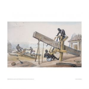 SLA063 Black Carpenters at Work