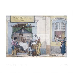SLA065 Slaves in a Barbers Shop