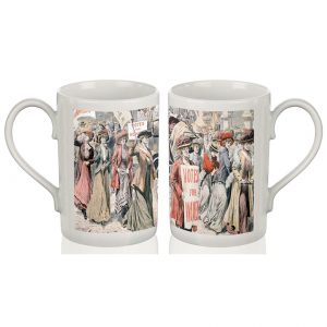 Porcelain Mug: Votes for Women (Colour)