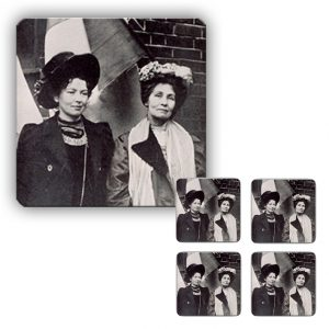 Coaster Set: Emmeline & Christabel Pankhurst