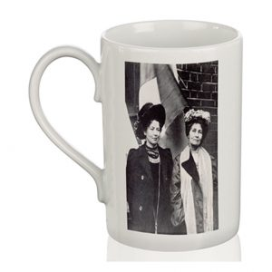 Porcelain Mug: Emmeline & Christabel Pankhurst
