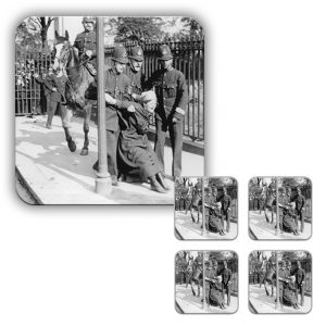 Coaster Set: Suffragette Arrest