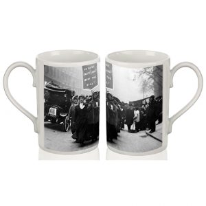 Porcelain Mug: Carry the Bill