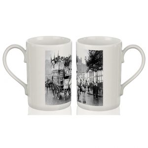 Porcelain Mug: Suffragette Demonstration