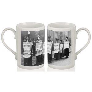 Porcelain Mug – Suffragette Meeting